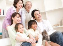 家族が憩う住空間