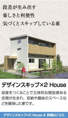 デザインスキップ×2 House