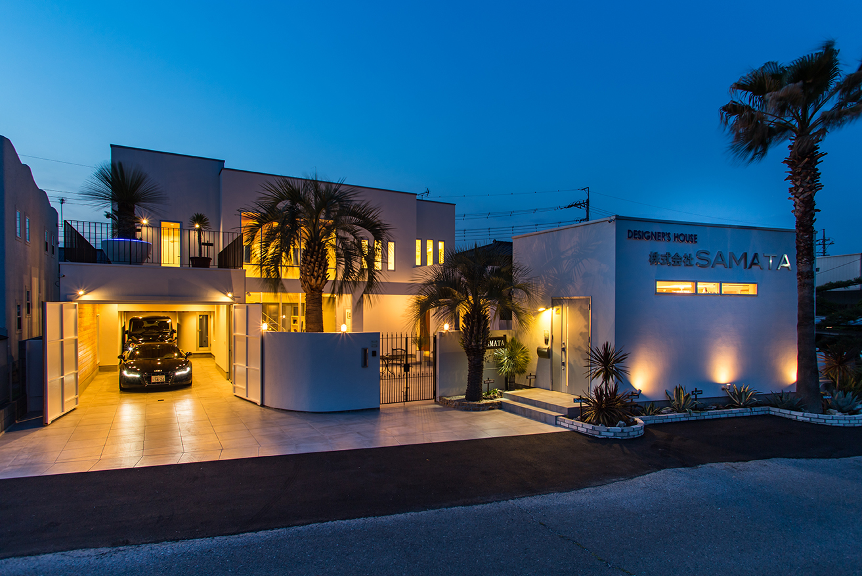SAMATAのモデルハウス